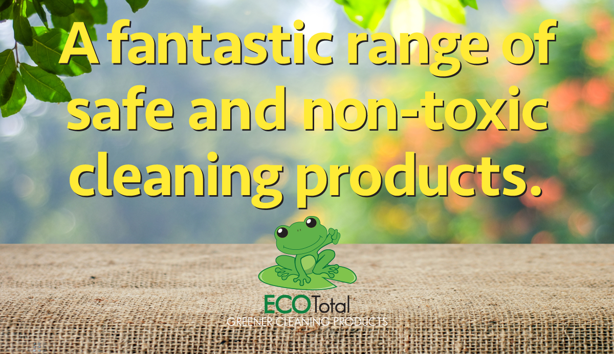 A fantastic range of safe and non-toxic cleaning products.