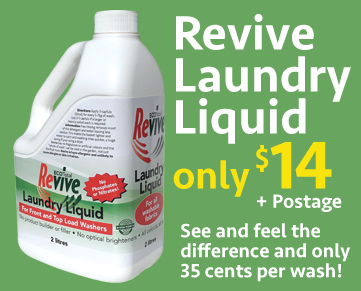 Revive laundry liquid only $14