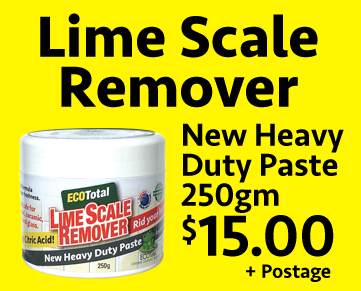Lime Scale Remover $25